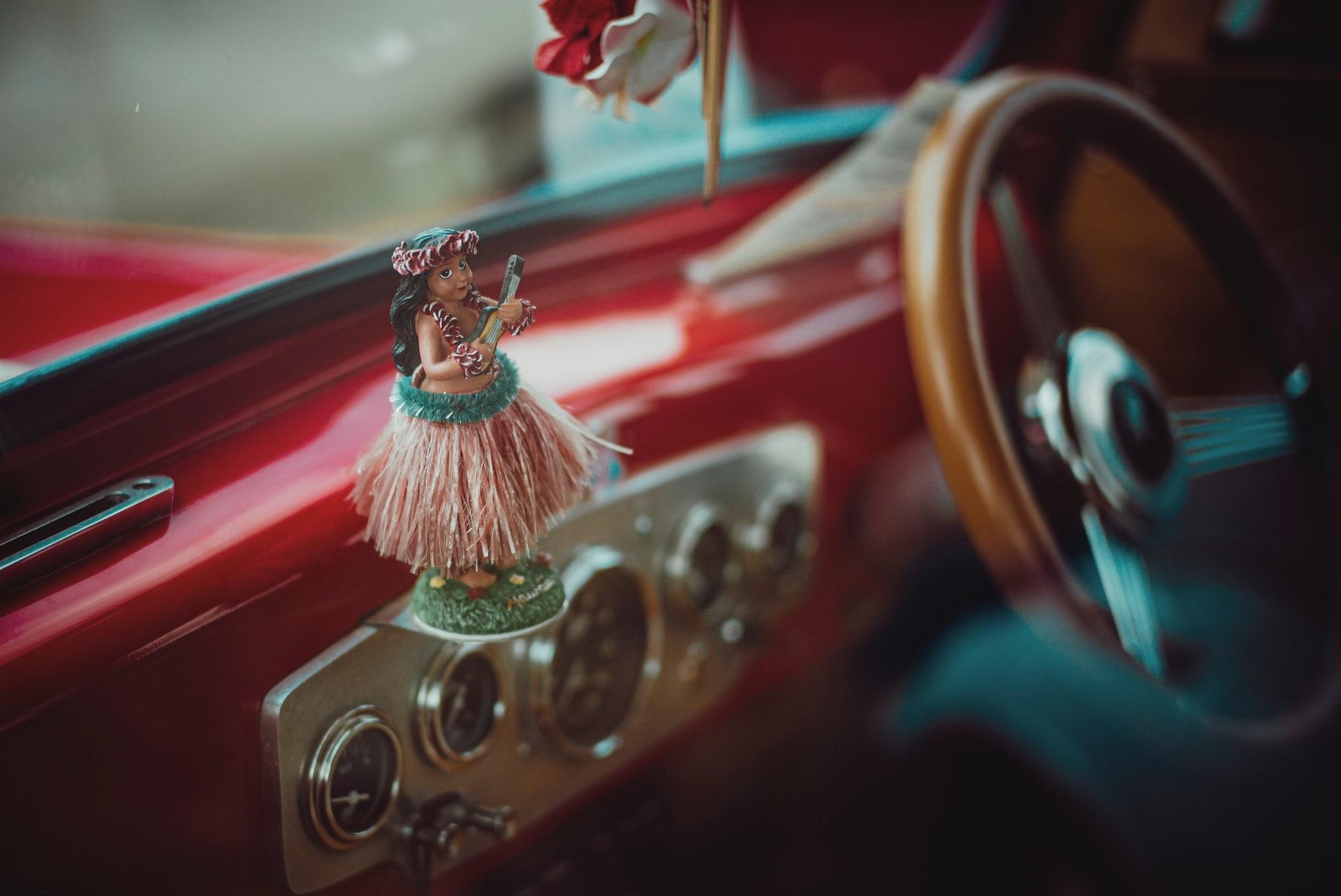 Hawaii car interior