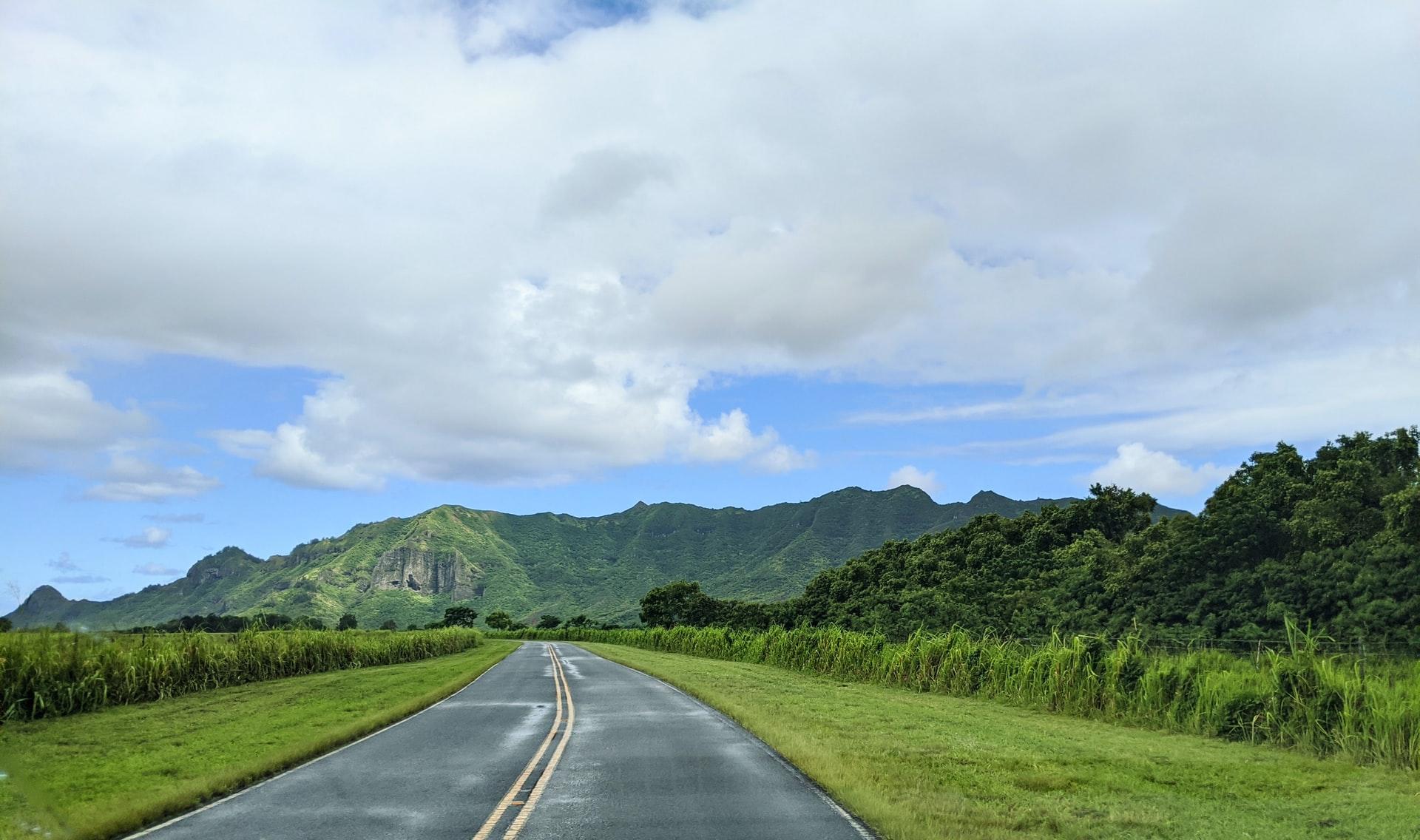 Hawaii road drive
